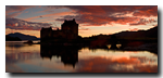 Crepuscule, Eilean Donan Castle, Loch Duich, Dornie, Lochalsh, Scotland