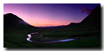 Dawn, River Coupall, Glencoe Pass, Glencoe, Lochaber, Scotland