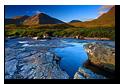River Coupall, Rannoch Moor, Glencoe, Lochaber, Scotland