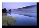 Etang de Lispach avant le lever du soleil, La Bresse, Vosges, France