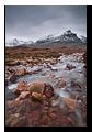 Quinag and Allt na Bradhan, Assynt, Highlands, Scotland