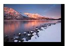 Eidepollen, Stonglandshals, Tran�y, Senja, Troms, Norv�ge