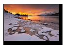 Eidepollen, Stonglandshals, Tranøy, Senja, Troms, Norvège